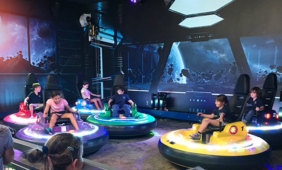 Spin Zone bummer cars - FunDimension Indoor and Outdoor family entertainment center Miami