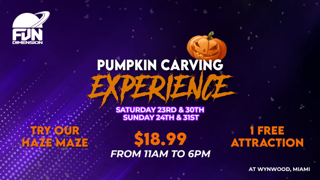 pumpkin carving experience